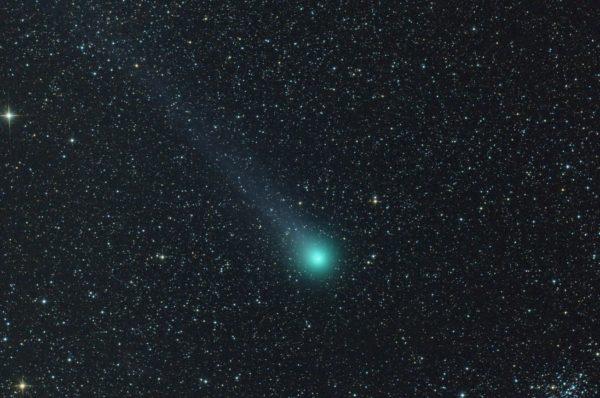 Kometa Lovejoy (C2014 Q2). Autorius Ričardas Balčiūnas
