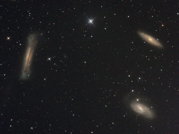 Liūto galaktikų tripletas