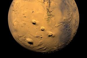 Marso ugnikalniai