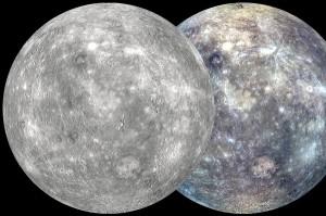 Merkurijaus žemėlapiai