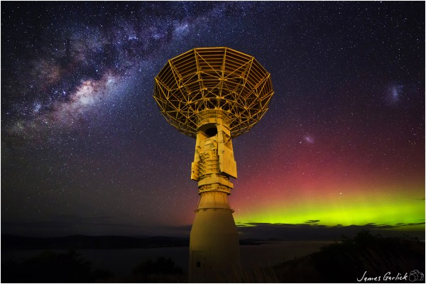Satellite Station and Southern Skies
