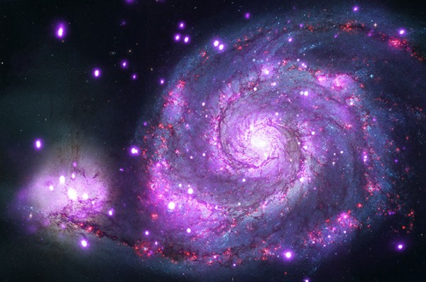 M51: X-Rays from the Whirlpool
