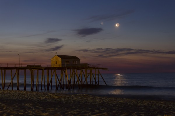 Conjunction by the Sea