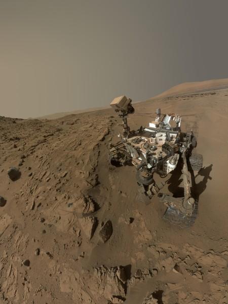 Martian Anniversary Selfie