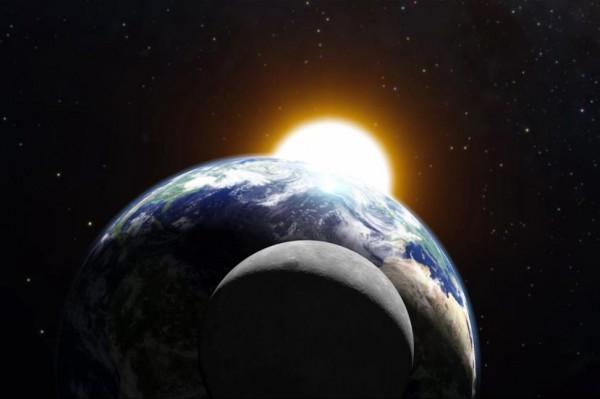 Rudens lygiadienis, Saulė ir Žemė