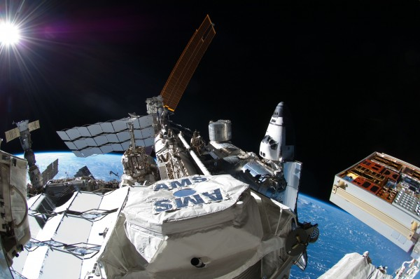Space Station Detector Finds Unexplained Positron Excess