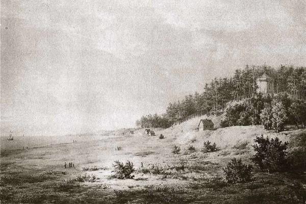 Birutės kalnas senovėje