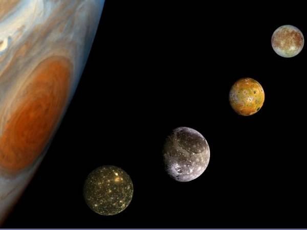 Jupiterio palydovai