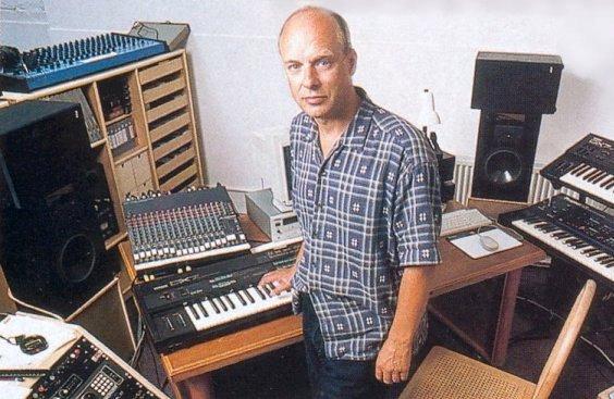 Ambient kompozitorius Brian Eno