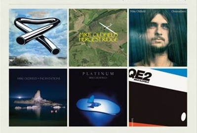 Mike Oldfield albumai