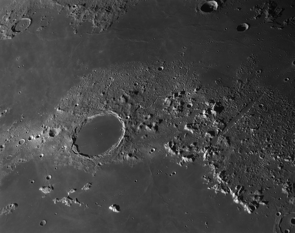 Plato and the Lunar Alps