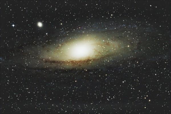 Andromedos galaktika M31