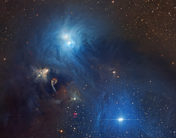 Stars and Dust in Corona Australis