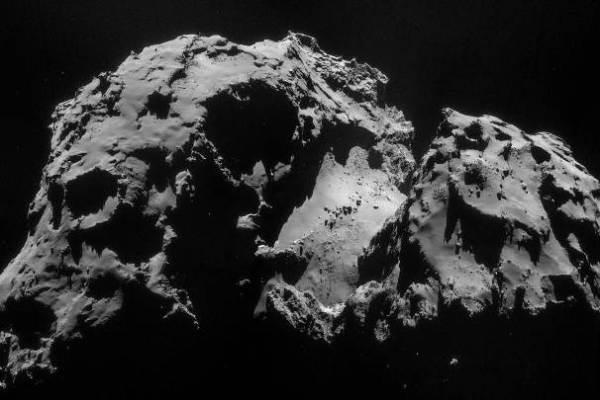 Čuriumovo-Gerasimenkos kometos branduolys 2014 m.