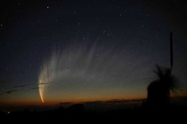 didžioji kometa su uodega