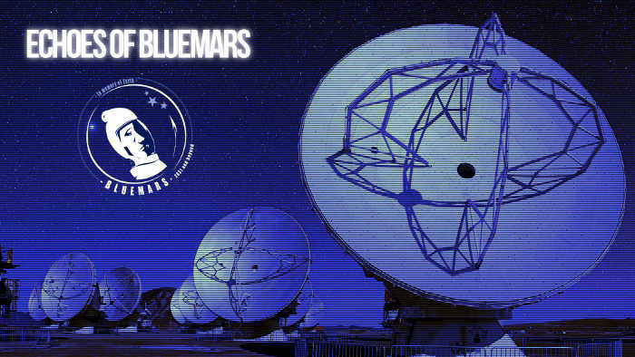 Kosminės muzikos internetinė radijo stotis Echoes of Bluemars
