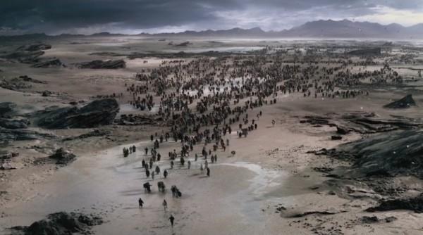 Mozė veda žydus jūros dugnu