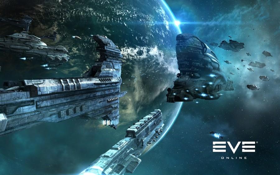 Kosminis žaidimas kompiuteriui EVE online