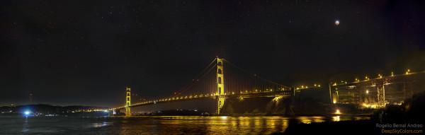 A Golden Gate Eclipse