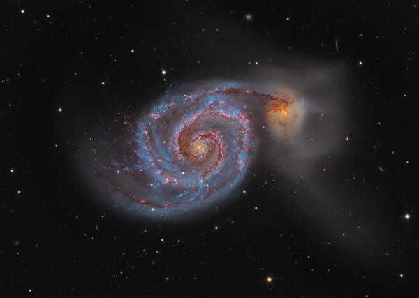 M51: The Whirlpool Galaxy