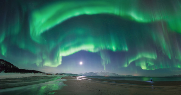 An Unexpected Aurora over Norway