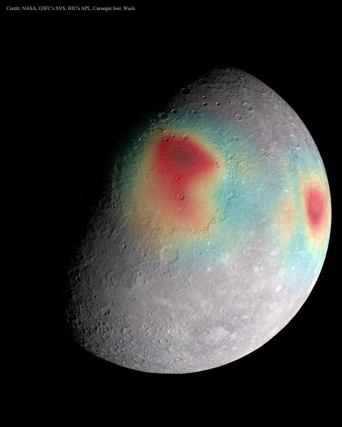 Gravitational Anomalies of Mercury