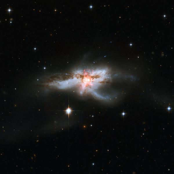 NGC 6240: Merging Galaxies