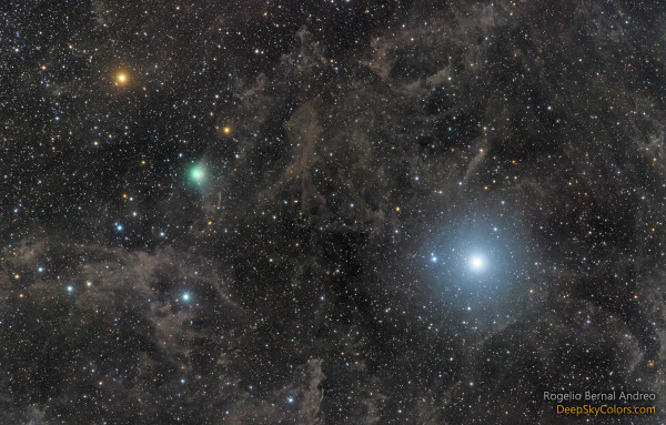 Polaris and Comet Lovejoy