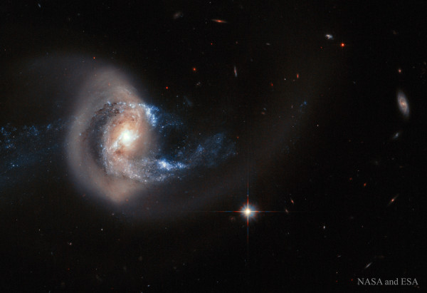Galaxy NGC 7714 After Collision