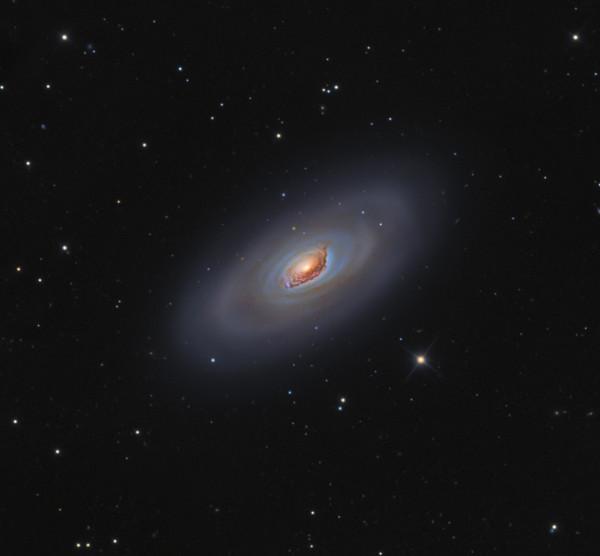 M64: The Black Eye Galaxy