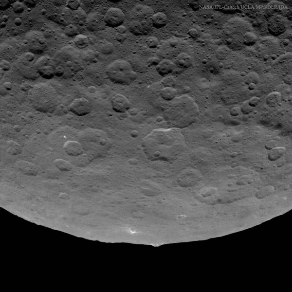 An Unusual Mountain on Asteroid Ceres