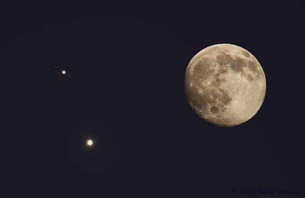 Venus and Jupiter are Close