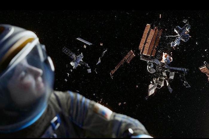 Kosminis susidūrimas (iš filmo Gravity)