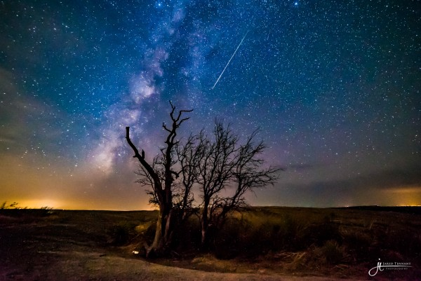 Comet Dust over Enchanted Rock