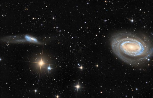 Arp 159 and NGC 4725