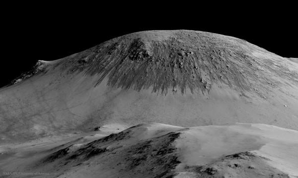 Seasonal Streaks Point to Recent Flowing Water on Mars