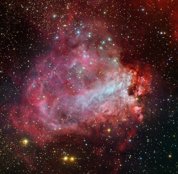 Star Factory Messier 17