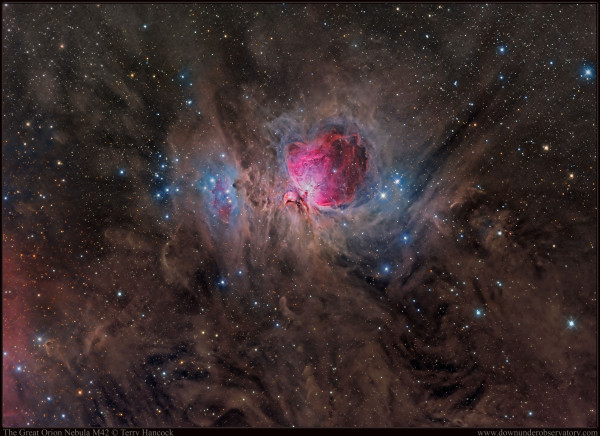 The Great Orion Nebula M42
