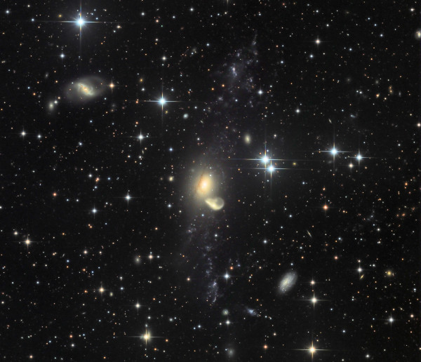 Recycling NGC 5291