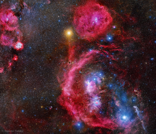 A 212-Hour Exposure of Orion