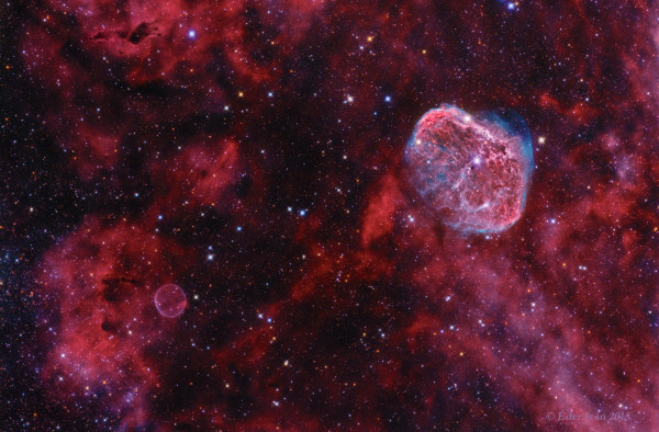 Cygnus: Bubble and Crescent