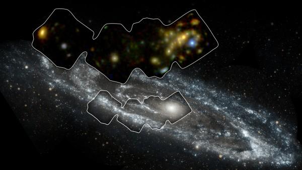 High Energy Andromeda