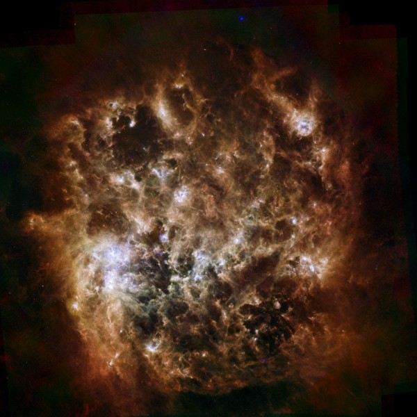 Infrared Portrait of the Large Magellanic Cloud