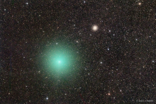 The Comet and the Star Cluster