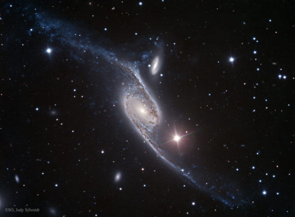 NGC 6872: A Stretched Spiral Galaxy