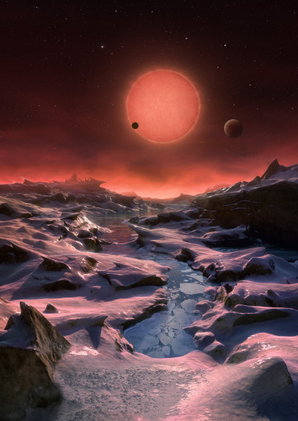 Three Worlds for TRAPPIST-1