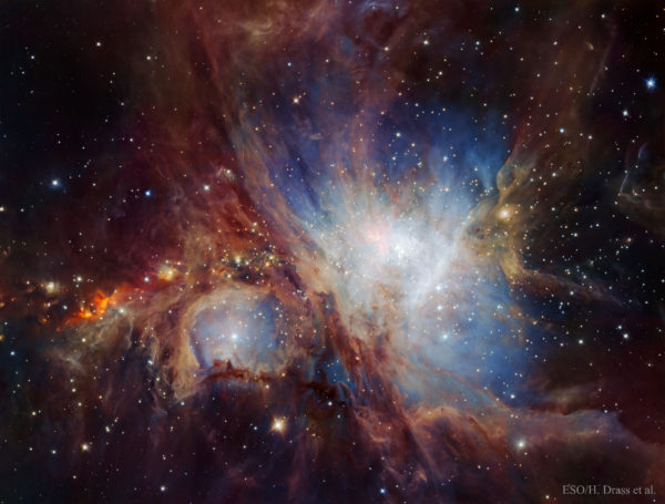The Orion Nebula in Infrared from HAWK-I