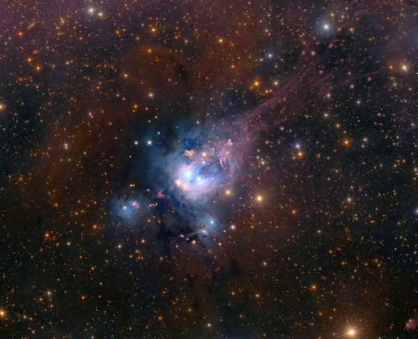 Young Suns of NGC 7129
