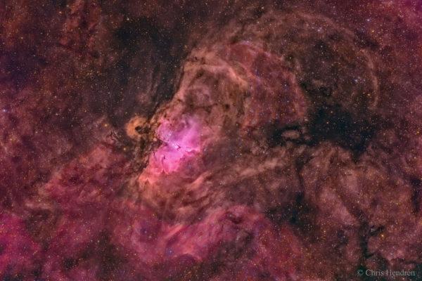 Nest of the Eagle Nebula