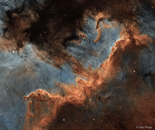 The Cygnus Wall of Star Formation